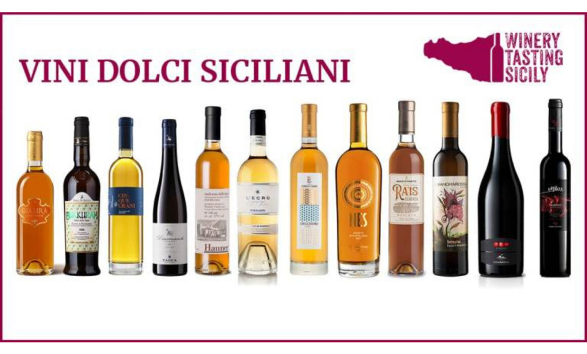 Vini dolci siciliani per le feste